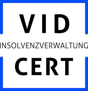 VID CERT Insolvenzverwaltung